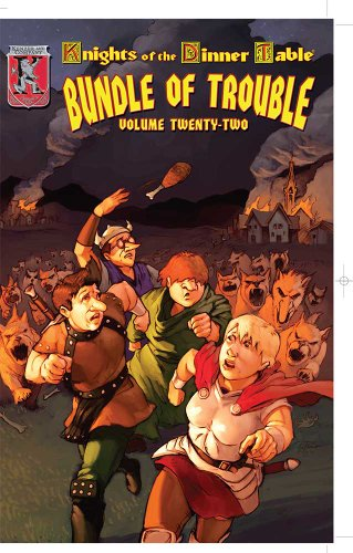 9781594590733: Knights of the Dinner Table: Bundle of Trouble, Vol. 22