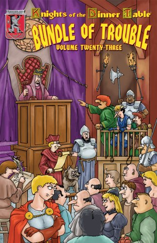 9781594590740: Knights of the Dinner Table: Bundle of Trouble, Vol. 23