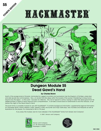 9781594590788: Dead Gawd's Hand (HackMaster 4th edition RPG)