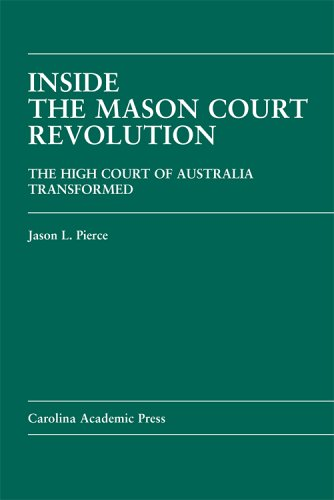 9781594600616: Inside the Mason Court Revolution: The High Court of Australia Transformed