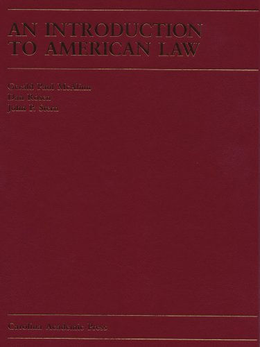 9781594601095: An Introduction to American Law