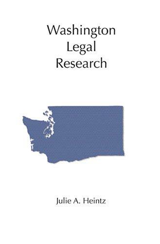 9781594601439: Washington Legal Research