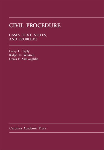 9781594602047: Civil Procedure: Cases, Text, Notes, And Problems