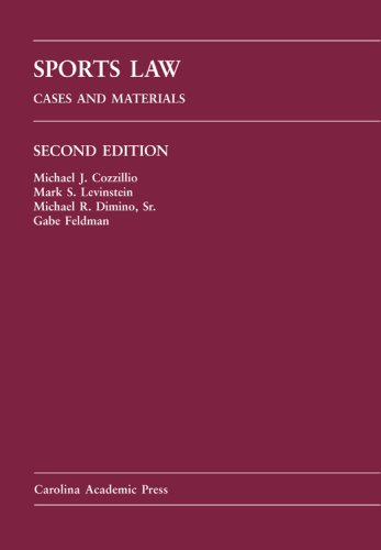 9781594602917: Sports Law: Cases and Materials