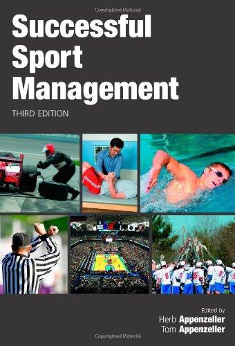 9781594604201: Successful Sports Management