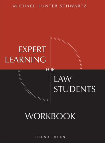 9781594605529: Expert Learning for Law Students Workbook