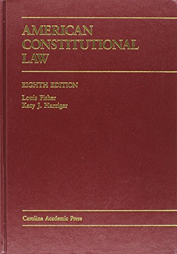 9781594606236: American Constitutional Law
