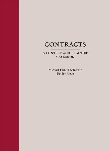 9781594606403: Contracts: A Context and Practice Casebook
