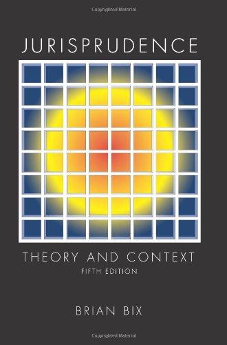 9781594606984: Jurisprudence: Theory and Context
