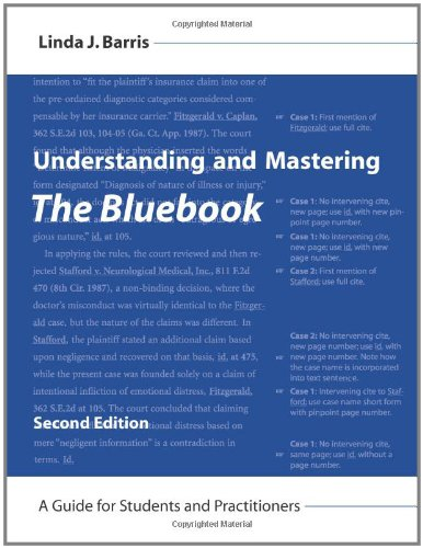 9781594607332: Understanding and Mastering The Bluebook: A Guide for Students and Practitioners