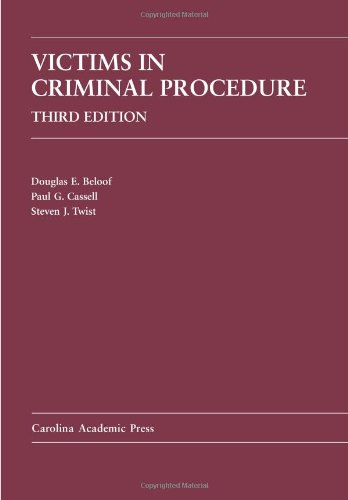 9781594607387: Victims in Criminal Procedure