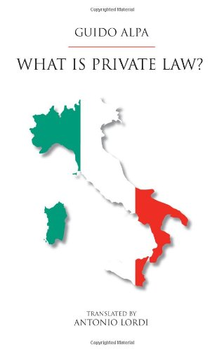 9781594607905: What Is Private Law?