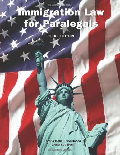 9781594608179: Immigration Law for Paralegals