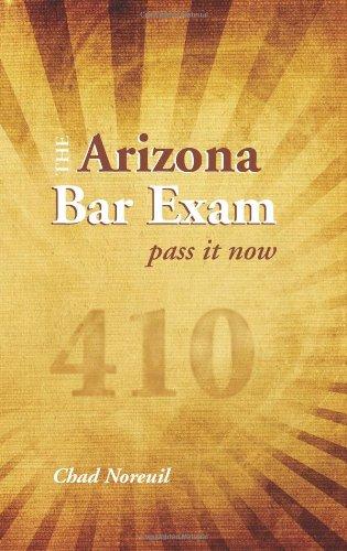 9781594608223: The Arizona Bar Exam: Pass It Now