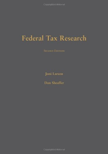 9781594608575: Federal Tax Research