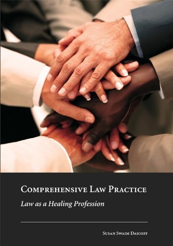9781594608803: Comprehensive Law Practice: Law as a Healing Profession