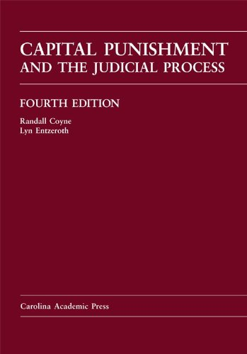 9781594608957: Capital Punishment and the Judicial Process