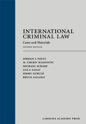 9781594609053: International Criminal Law: Cases and Materials, Fourth Edition