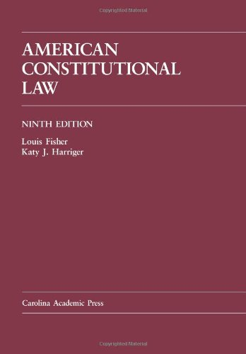 9781594609534: American Constitutional Law