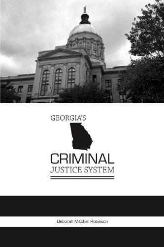 9781594609657: Georgia's Criminal Justice System (State-specific Criminal Justice)