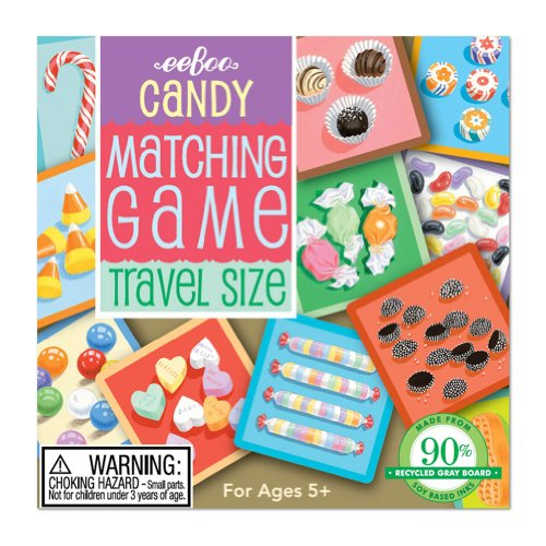 9781594616792: Candy Travel Matching Game