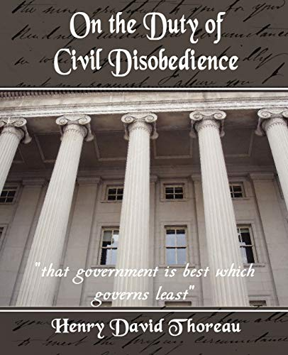 9781594625268: On the Duty of Civil Disobedience