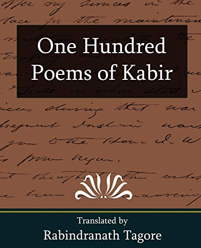 9781594628474: One Hundred Poems of Kabir