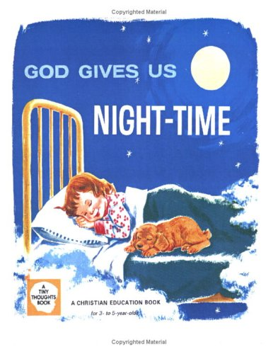 9781594660597: God Gives Us Night-Time (Tiny Thoughts Books)