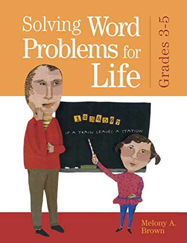 9781594690112: Solving Word Problems for Life, Grades 3-5