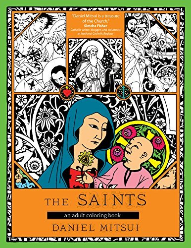 9781594717246: The Saints: An Adult Coloring Book
