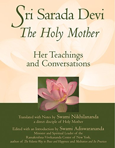 9781594730702: Sri Sarada Devi, The Holy Mother: Her Teachings and Conversations
