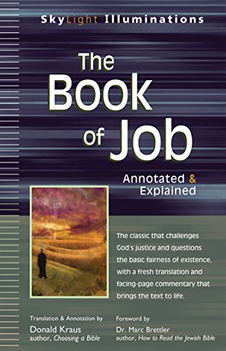 9781594733895: The Book of Job: Annotated & Explained (SkyLight Illuminations)