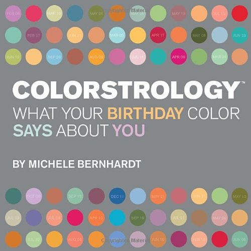 9781594740251: Colorstrology: What Your Birthday Color Says About You