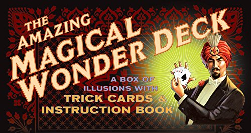 9781594740367: The Amazing Magical Wonder Deck: A Box of Illusions with Trick Cards & Instruction Book