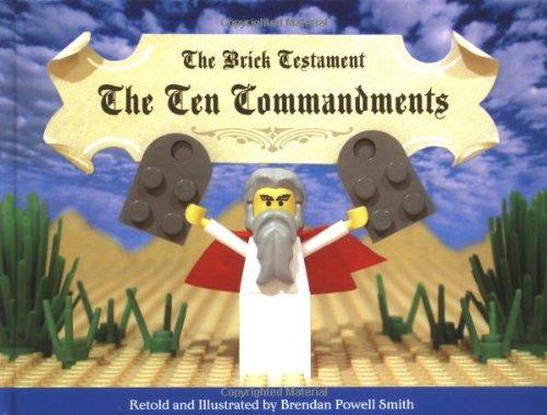 9781594740442: The Brick Testament: The Ten Commandments