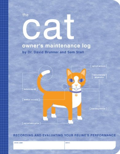 Cat Owners Maintenance Log : A Record of Your Felines Performance