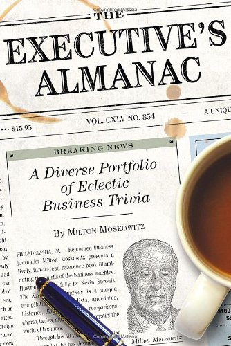 9781594741012: The Executive's Almanac
