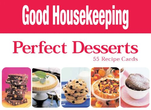 9781594741449: Perfect Desserts: 55 Recipe Cards (Cook's Cards)
