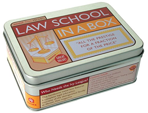 9781594741463: Law School in a Box: All the Prestige for a Fraction of the Price