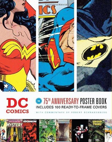 9781594744624: DC 75th Anniversary Poster Book