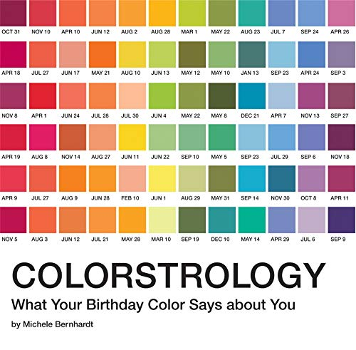 9781594746918: Colorstrology: What Your Birthday Color Says about You