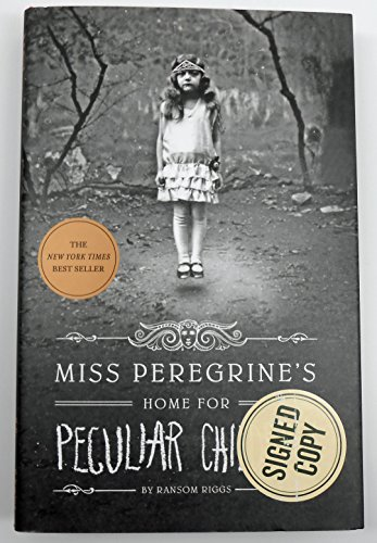 9781594748912: SIGNED! Hardcover Miss Peregrine's Home for Peculiar Children (Miss Peregrine's Peculiar Children) by Ransom Riggs