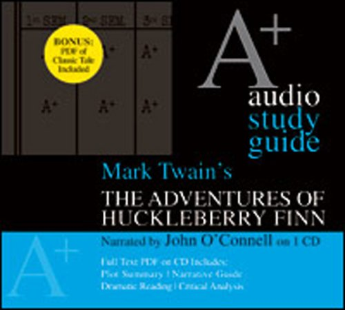 9781594835513: The Adventures of Huckleberry Finn: An A+ Audio Study Guide