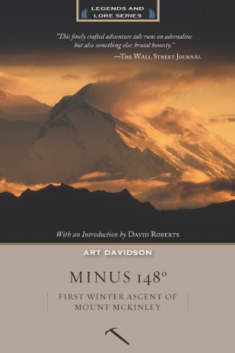 9781594857553: Minus 148 Degrees: First Winter Ascent of Mount McKinley (Legends and Lore)