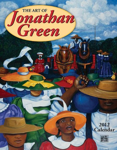 9781594907326: Art of Jonathan Green 2012 Calendar