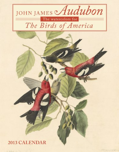 9781594908798: John James Audubon's Birds of America 2013 Calendar