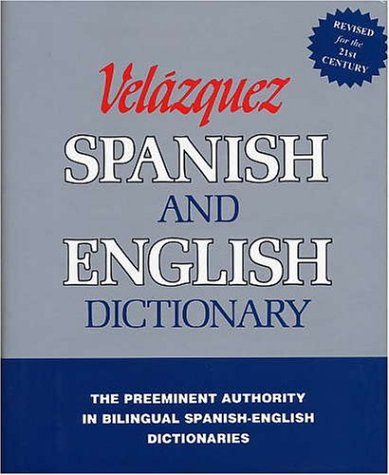 9781594950001: Velazquez Spanish and English Dictionary (Spanish Edition)
