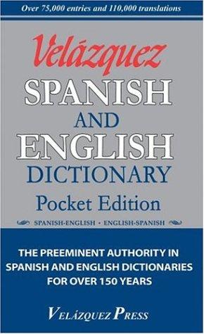 9781594950032: Velazquez Spanish And English Dictionary Pocket Edition (English and Spanish Edition)