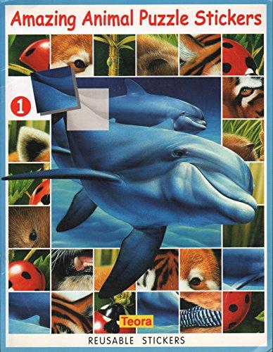 Amazing Animal Puzzle Stickers 1 (Amazing Animal Puzzle Stickers): Emma Fojt & Andre Boos
