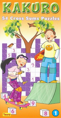 KAKURO 1, 54 Cross Sums Puzzles: n/a